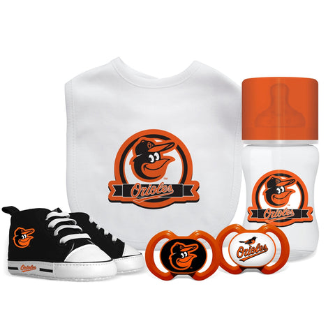 5 Piece Gift Set - Baltimore Orioles-justbabywear