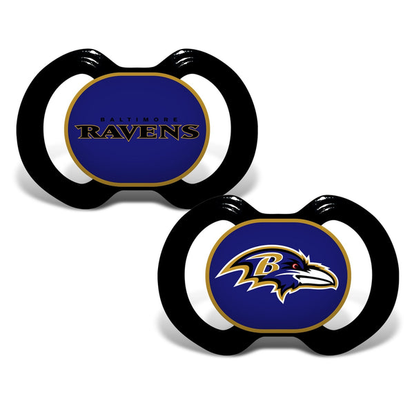 Gen. 3000 Pacifier 2-Pack - Baltimore Ravens-justbabywear
