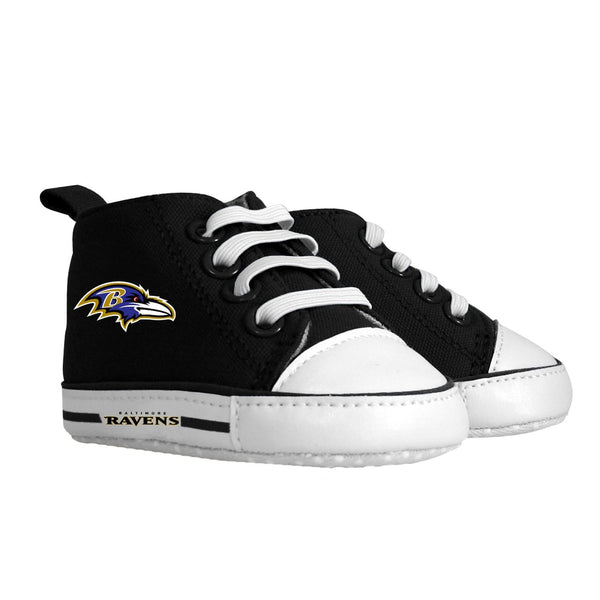 Pre-walker Hightop (1 Size fits Most) (Hanger) - Baltimore Ravens-justbabywear
