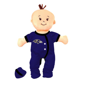 Team Doll - Girl - Baltimore Ravens-justbabywear