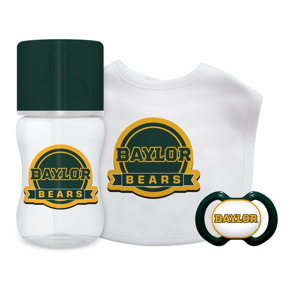 3-Piece Gift Set - Baylor University-justbabywear