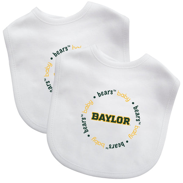 Bibs (2 Pack) - Baylor University-justbabywear