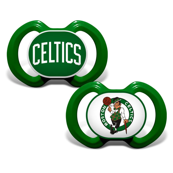 Gen. 3000 Pacifier 2-Pack - Boston Celtics-justbabywear