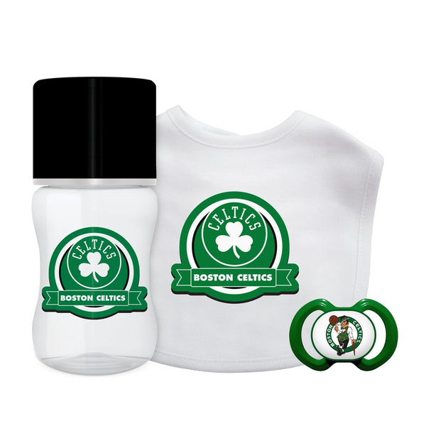 3-Piece Gift Set - Boston Celtics-justbabywear
