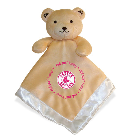 Security Bear - Pink Logo - Boston Red Sox-justbabywear