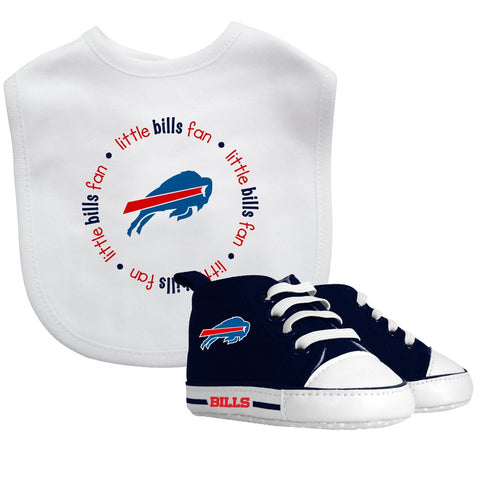 Bib & Prewalker Gift Set - Buffalo Bills-justbabywear