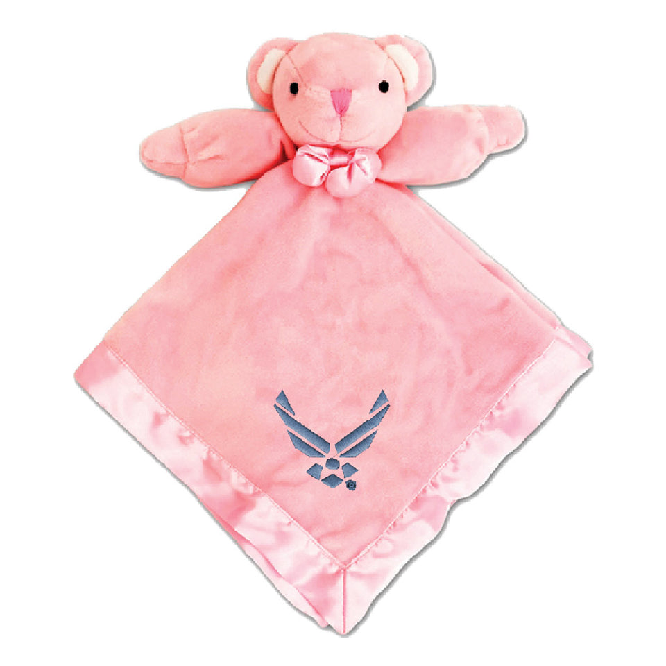 U.S. Air Force Pink Security Bear Blanket