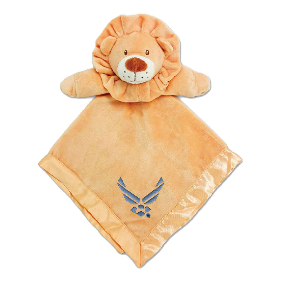 U.S. Air Force Tan Security Lion Blanket