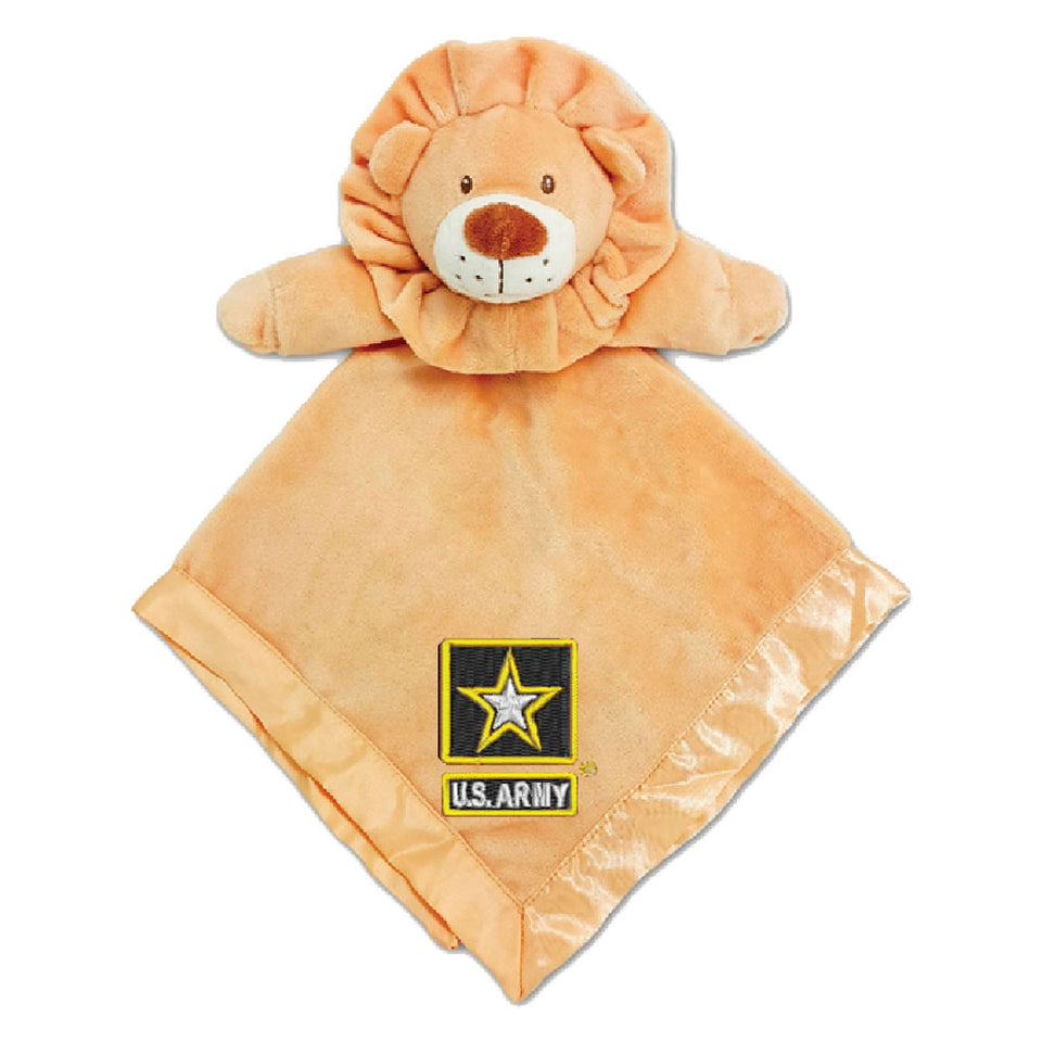U.S. Army Tan Security Lion Blanket