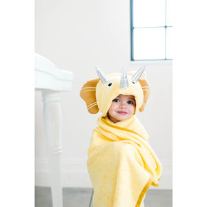 Bamboo Dinosaur Hooded Towel