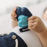 Hand Fit Blue Galaxy Chew Mitt - Teether for Infants