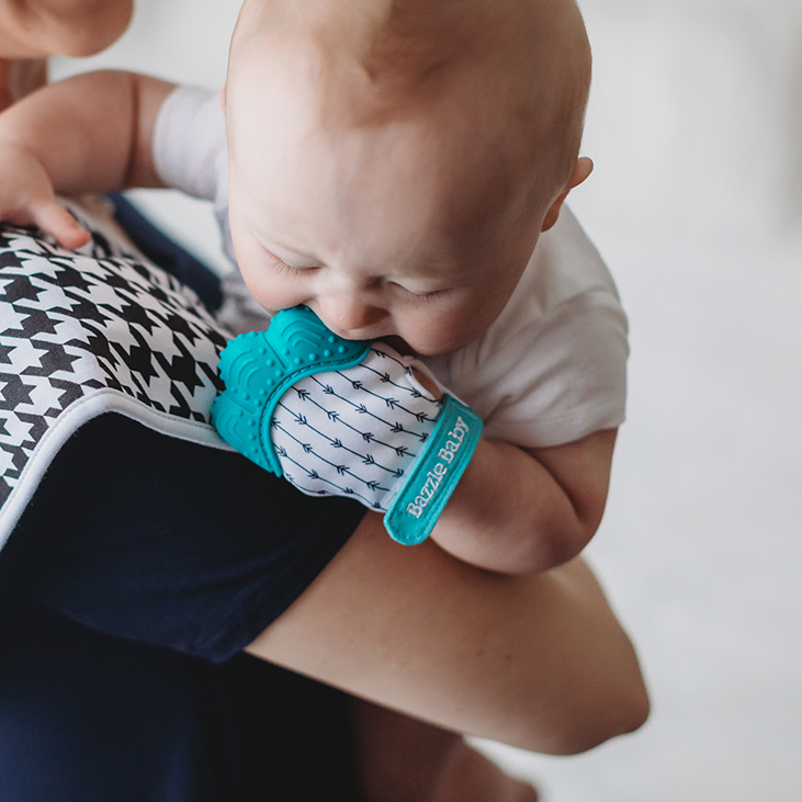 Narrow Arrows Chew Mitt - Teether for Infants