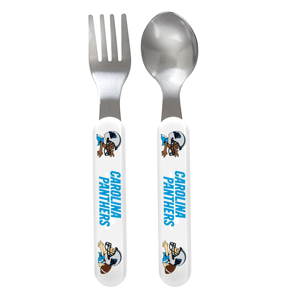 Fork & Spoon Set - Carolina Panthers-justbabywear