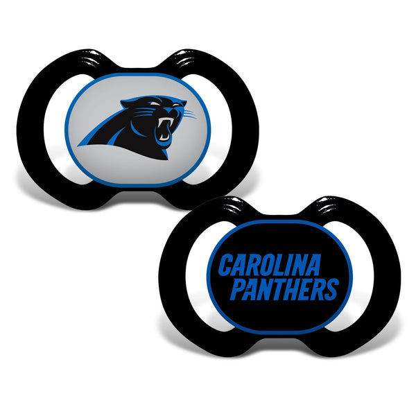 Gen. 3000 Pacifier 2-Pack - Carolina Panthers-justbabywear