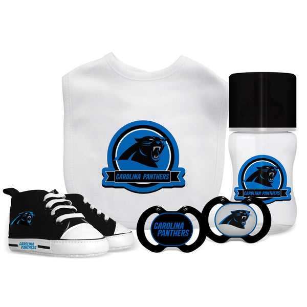 5 Piece Gift Set - Carolina Panthers-justbabywear