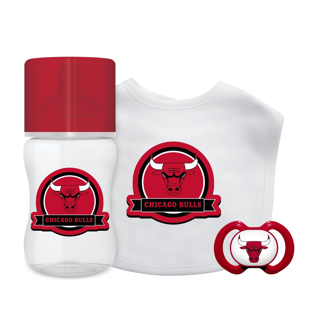 3-Piece Gift Set - Chicago Bulls-justbabywear