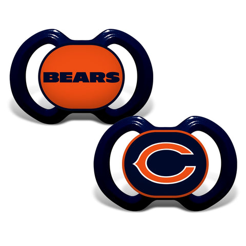 Gen. 3000 Pacifier 2-Pack - Chicago Bears-justbabywear