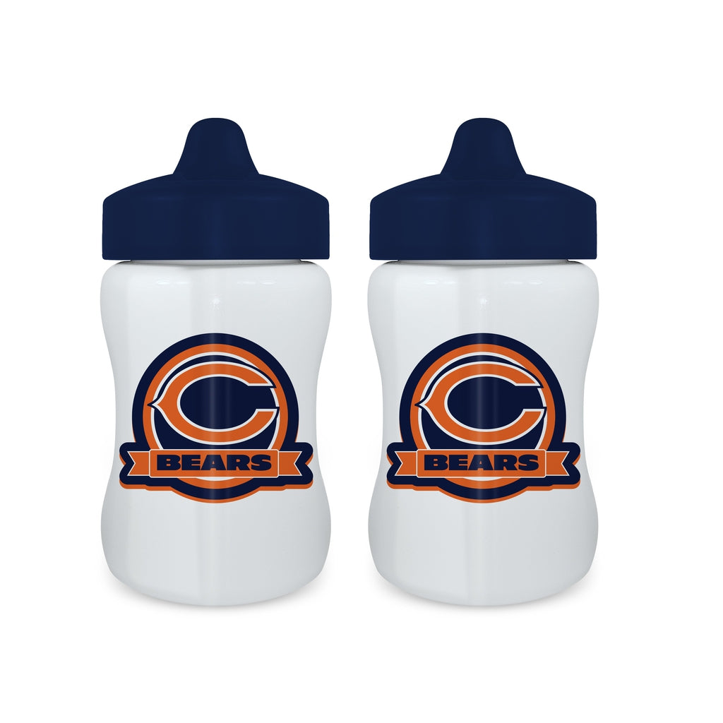 Sippy Cup (2 Pack) - Chicago Bears-justbabywear