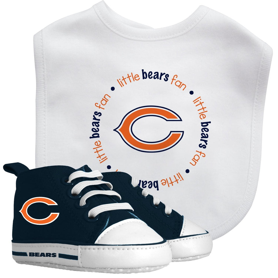 Bib & Prewalker Gift Set - Chicago Bears-justbabywear