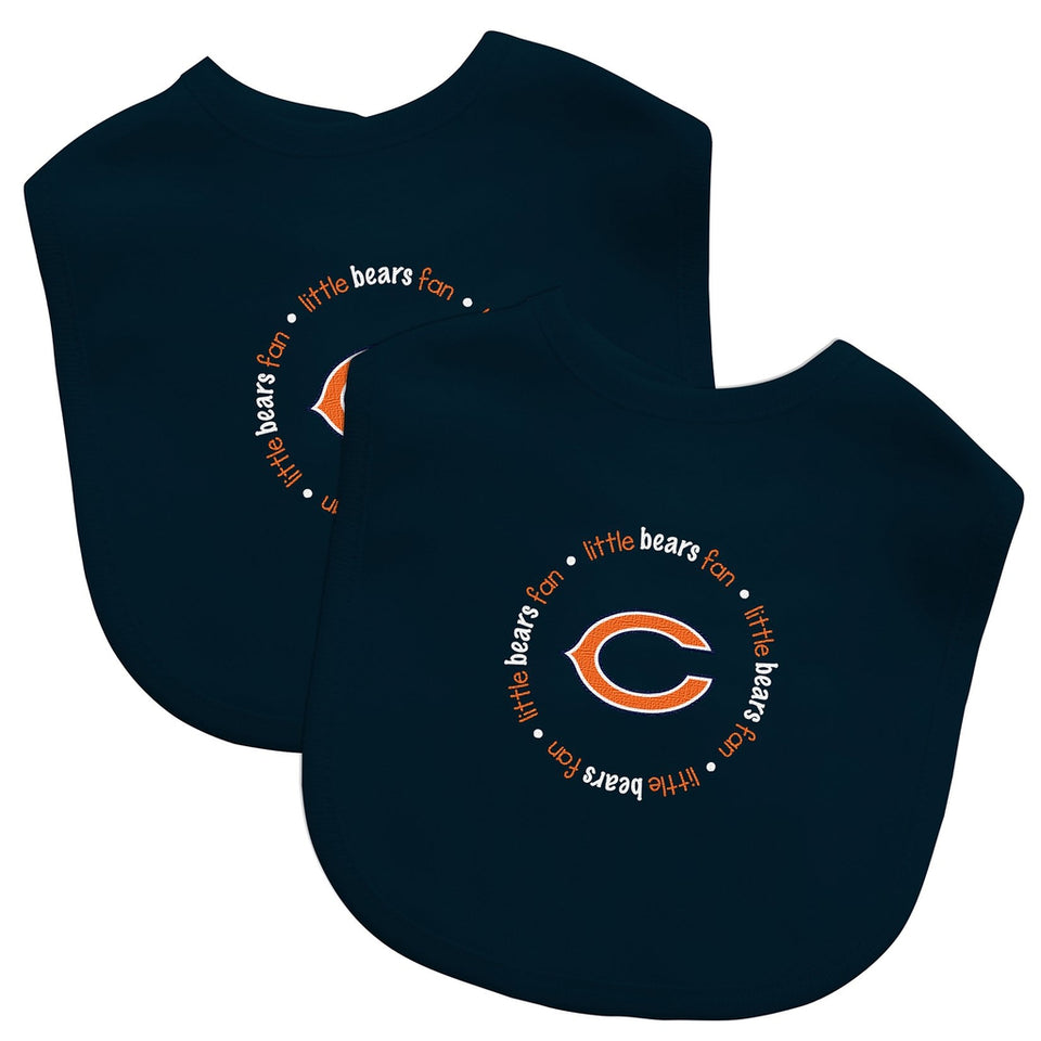 Bibs (2 Pack) - Chicago Bears-justbabywear