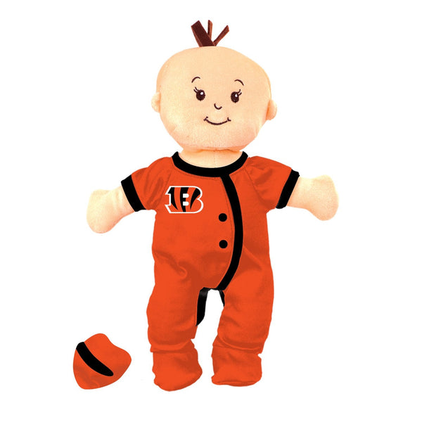 Team Doll - Girl - Cincinnati Bengals-justbabywear
