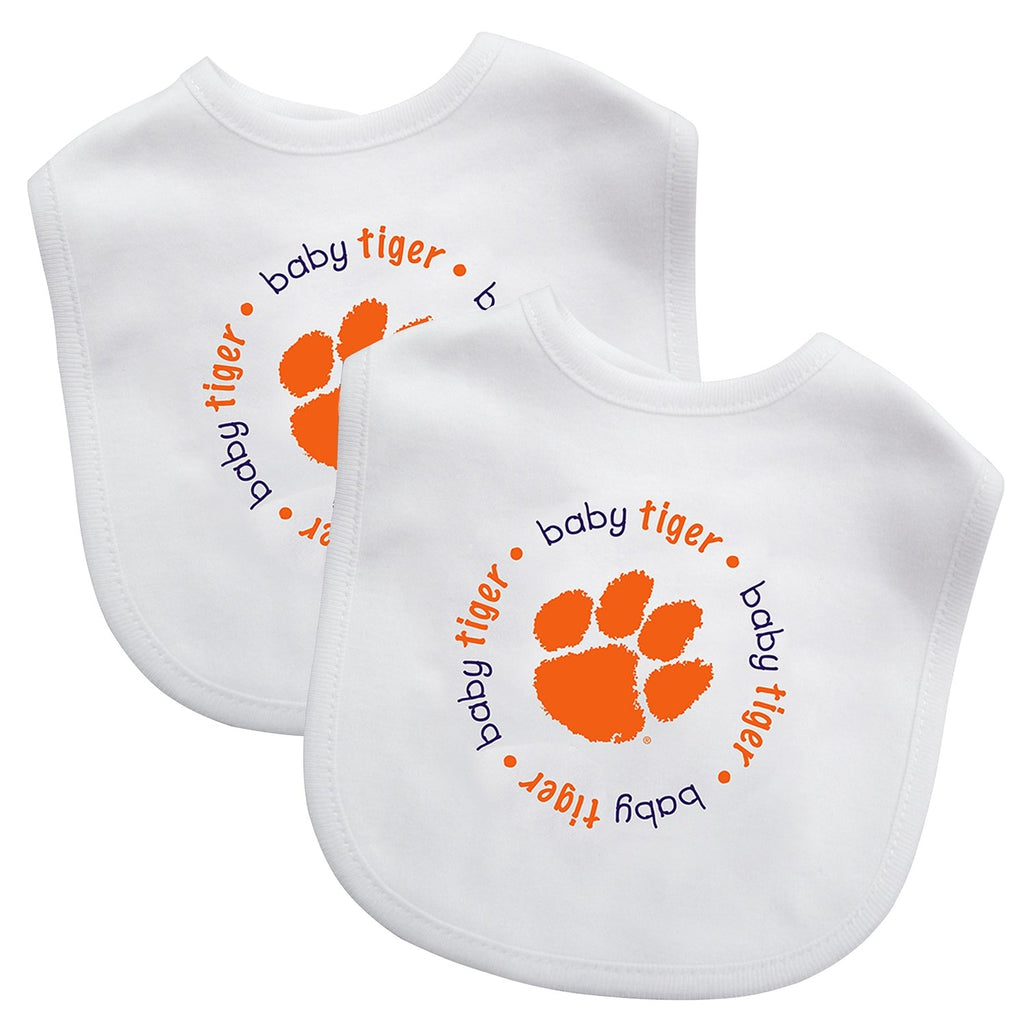 Bibs (2 Pack) - Clemson University-justbabywear