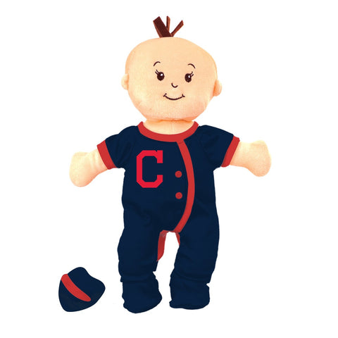 Team Doll - Girl - Cleveland Indians-justbabywear