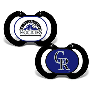 Gen. 3000 Pacifier 2-Pack - Colorado Rockies-justbabywear