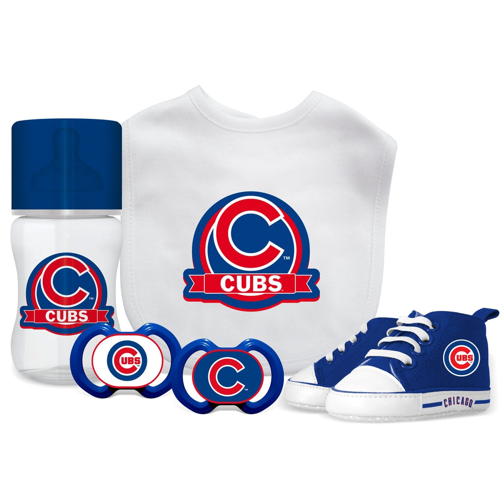 5 Piece Gift Set - Chicago Cubs-justbabywear