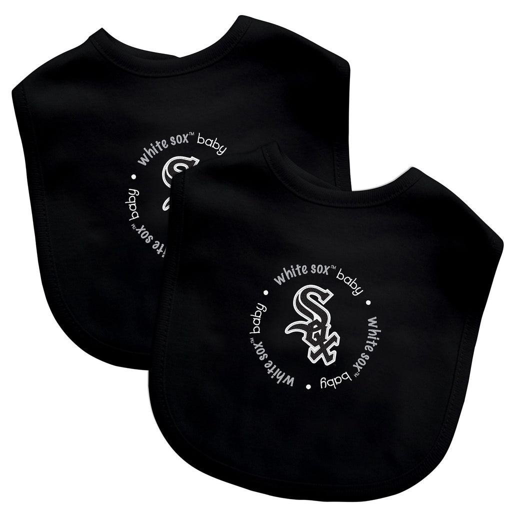 Bibs (2 Pack) - Chicago White Sox-justbabywear