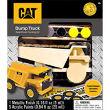 Caterpiller Dump Truck Licensed Wood Craft DIY Paint Kit