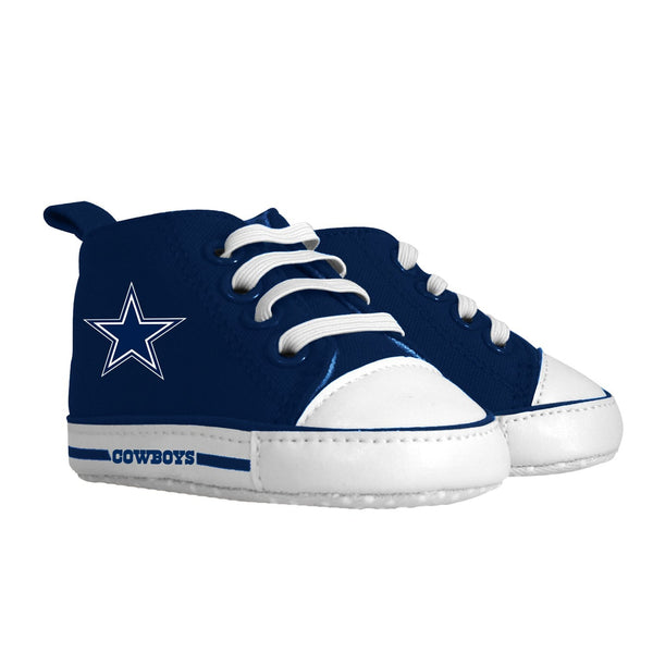 Pre-walker Hightop (1 Size fits Most) (Hanger) - Dallas Cowboys-justbabywear