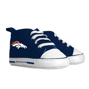 Pre-walker Hightop (1 Size fits Most) (Hanger) - Denver Broncos-justbabywear