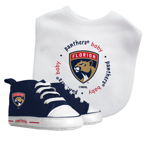 Bib & Prewalker Gift Set - Florida Panthers-justbabywear