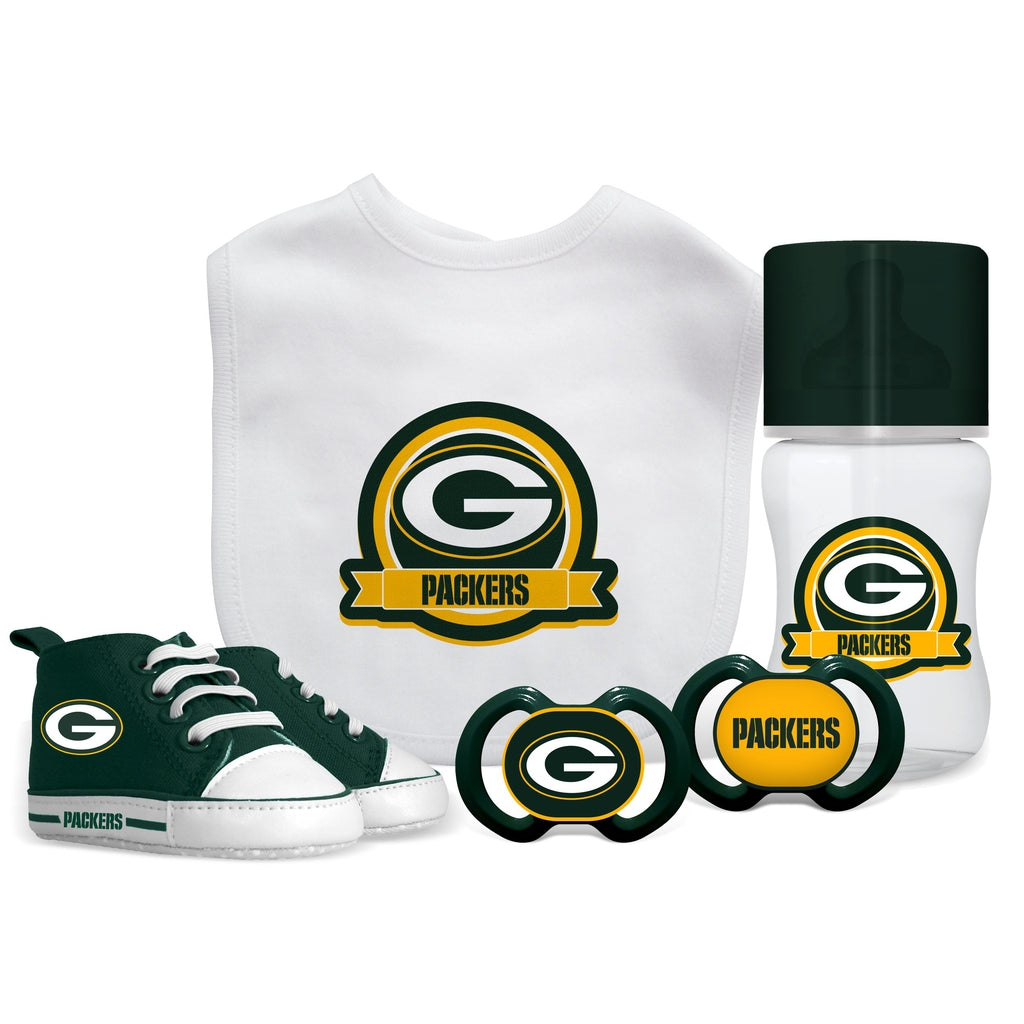 5 Piece Gift Set - Green Bay Packers-justbabywear