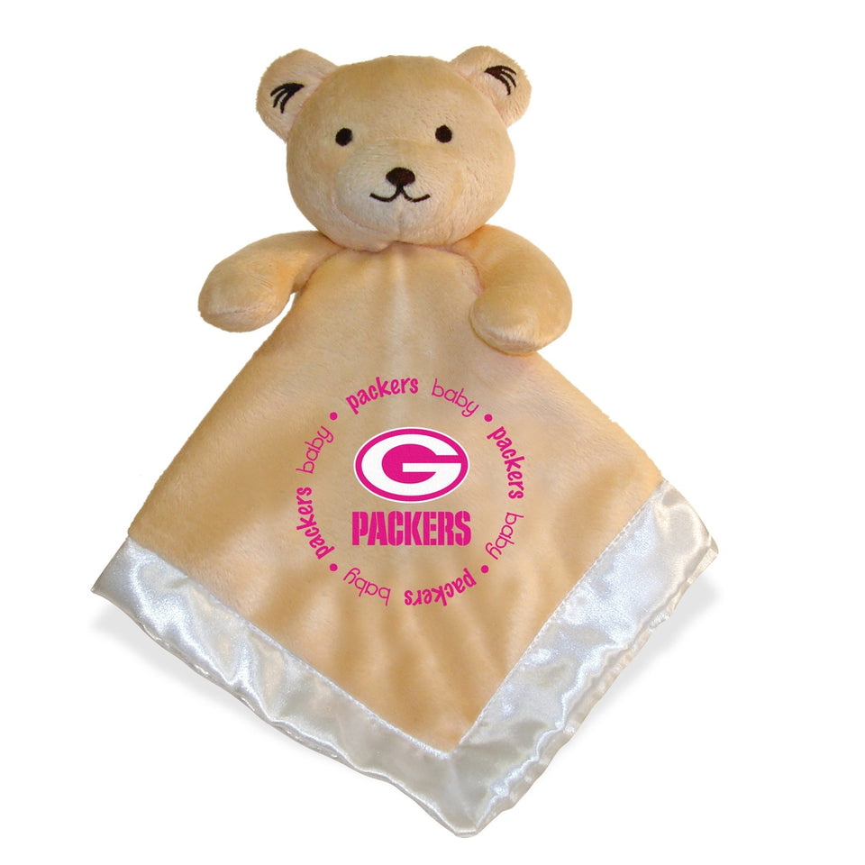 Security Bear - Pink Logo - Green Bay Packers-justbabywear