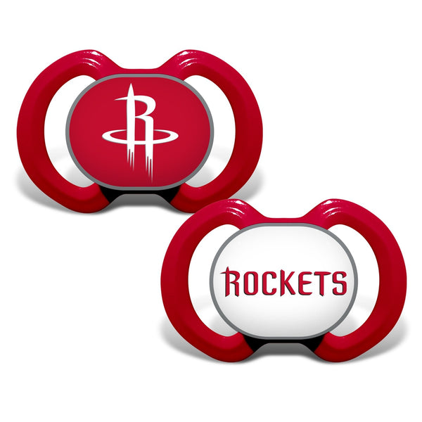 Gen. 3000 Pacifier 2-Pack - Houston Rockets-justbabywear
