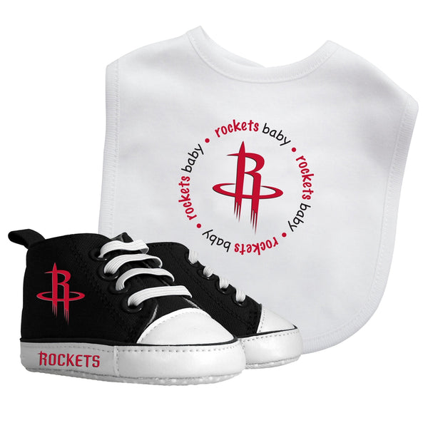 Bib & Prewalker Gift Set - Houston Rockets-justbabywear