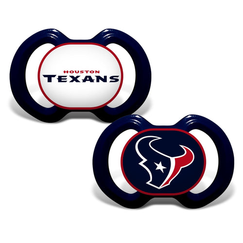 Gen. 3000 Pacifier 2-Pack - Houston Texans-justbabywear