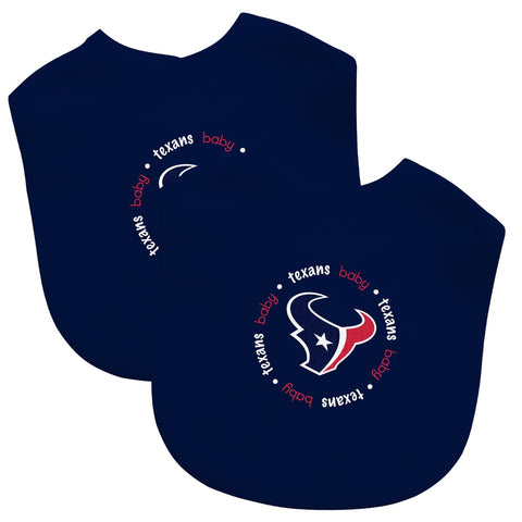 Bibs (2 Pack) - Houston Texans-justbabywear