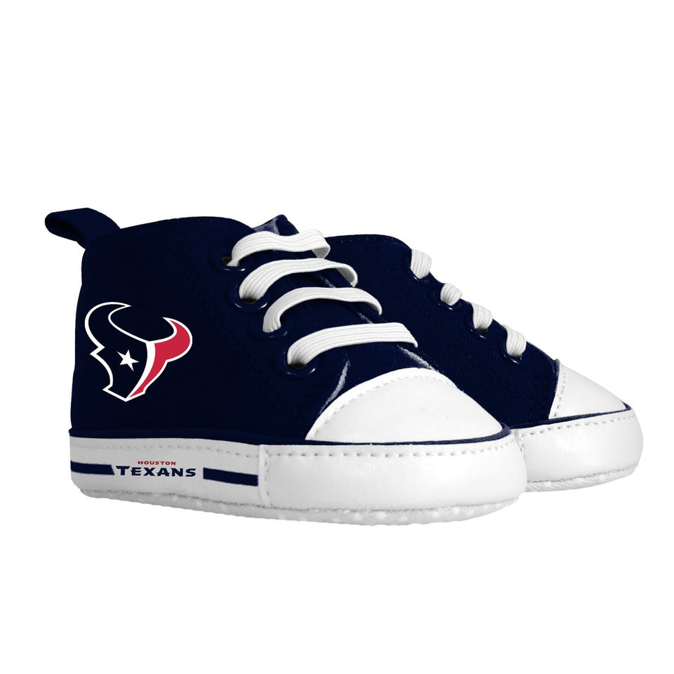 Pre-walker Hightop (1 Size fits Most) (Hanger) - Houston Texans-justbabywear
