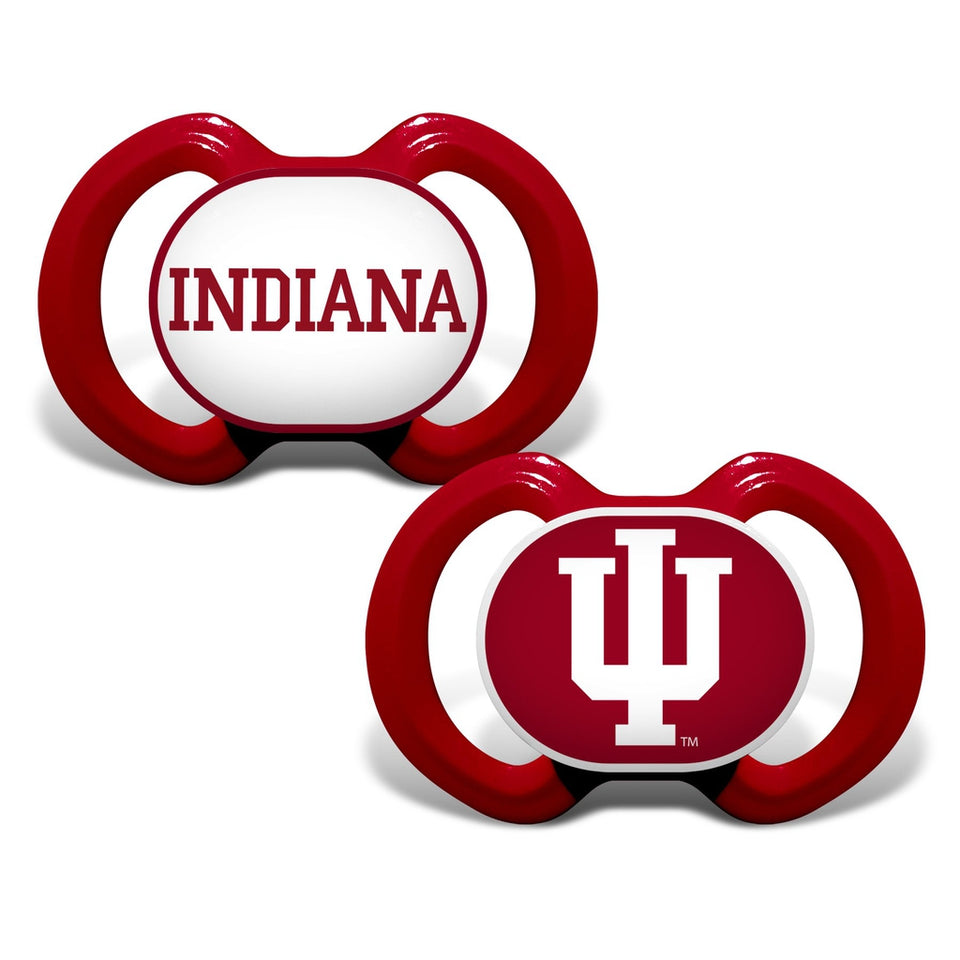 Gen. 3000 Pacifier 2-Pack - Indiana, University of-justbabywear