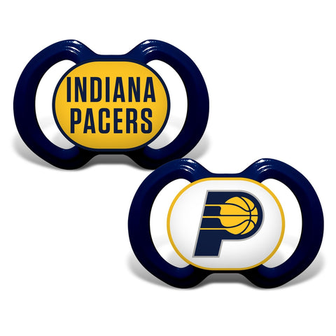 Gen. 3000 Pacifier 2-Pack - Indiana Pacers-justbabywear