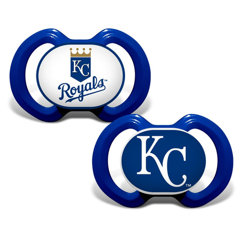 Gen. 3000 Pacifier 2-Pack - Kansas City Royals-justbabywear