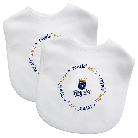 Bibs (2 Pack) - Kansas City Royals-justbabywear