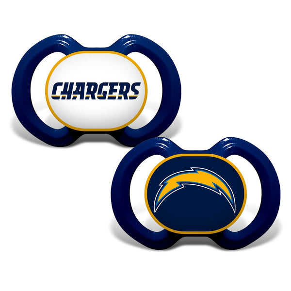 Gen. 3000 Pacifier 2-Pack - Los Angeles Chargers-justbabywear
