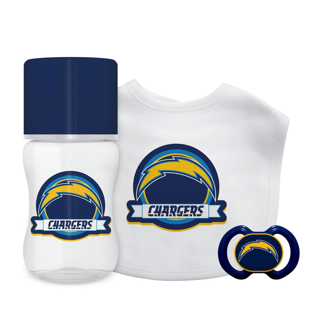 3-Piece Gift Set - Los Angeles Chargers-justbabywear