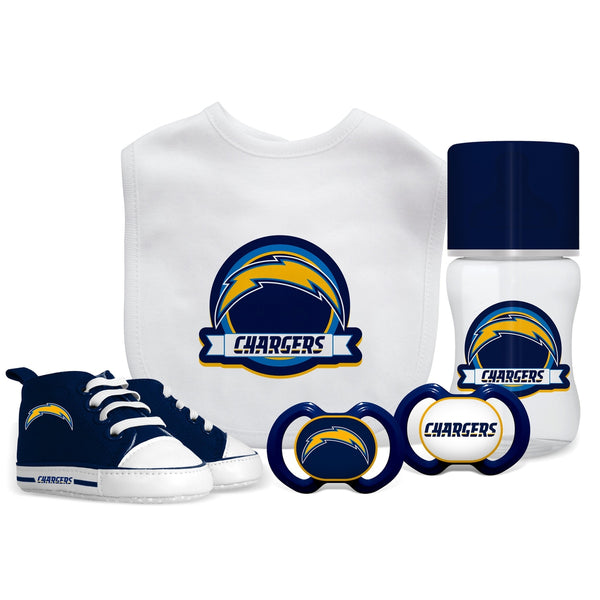 5 Piece Gift Set - Los Angeles Chargers-justbabywear