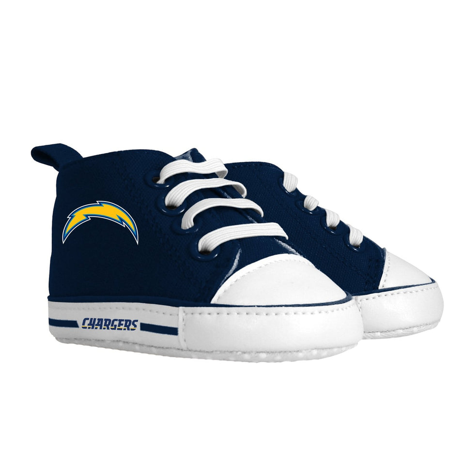 Pre-walker Hightop (1 Size fits Most) (Hanger) - Los Angeles Chargers-justbabywear