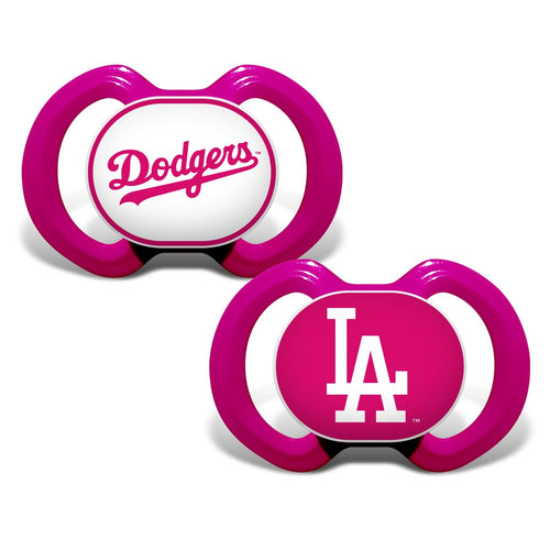 Gen. 3000 Pacifier 2-Pack - Pink - Los Angeles Dodgers-justbabywear